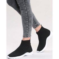 Czarne Sneakersy Stole The Show. Czarne sneakersy damskie marki Born2be, z materiału. Za 79,99 zł.