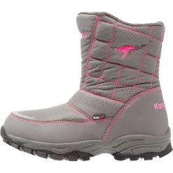 KangaROOS PUDDLE Śniegowce steel grey/blossom pink. Niebieskie buty zimowe damskie marki KangaROOS. W wyprzedaży za 135,85 zł.