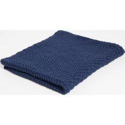 Simple - Komin. Niebieskie szaliki damskie Simple, z dzianiny. W wyprzedaży za 99,90 zł.