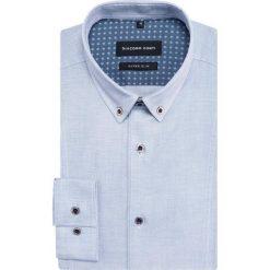 Koszula MICHELE KDWE000358. Czarne koszule męskie na spinki marki TOM TAILOR DENIM, l, z bawełny, button down, z długim rękawem. Za 259,00 zł.