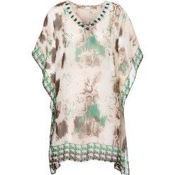 Sukienki: Sukienka plażowa bonprix brązowo-zielony