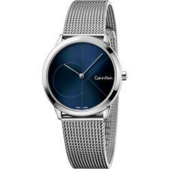 ZEGAREK CALVIN KLEIN MINIMAL MIDSIZE K3M2212N. Niebieskie zegarki męskie marki Calvin Klein, szklane. Za 849,00 zł.
