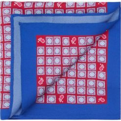 Poszetka 87-7P-001-X4. Czerwone poszetki męskie marki Wittchen, z bawełny, eleganckie. Za 79,00 zł.