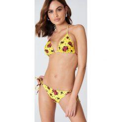 NA-KD Swimwear Dół bikini Triangle - Yellow. Żółte bikini marki NABAIJI. Za 19,95 zł.