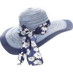 Kapelusze damskie: Niebieski Kapelusz Bohemia