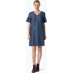 More & More - Sukienka damska, niebieski. Niebieskie sukienki mini marki More & More, z jeansu, z krótkim rękawem. Za 399,95 zł.