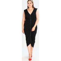 Długie sukienki: City Chic Długa sukienka black
