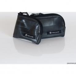 FG - Portfel z dętek rowerowych. Białe portfele damskie marki B'TWIN, z materiału. Za 90,00 zł.