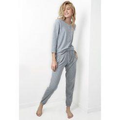 Piżamy damskie: Damska piżama Juliet szara
