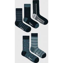 Pepe Jeans - Skarpety Andrew (5-pack). Białe skarpetki męskie marki WED'ZE, z elastanu. W wyprzedaży za 99,90 zł.