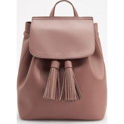 Klasyczny plecak - Fioletowy. Fioletowe plecaki damskie Reserved, klasyczne. Za 119,99 zł.