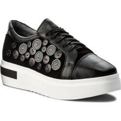 Sneakersy EVA MINGE - Coin 3Y 18MJ1372451ES 101. Czarne sneakersy damskie Eva Minge, ze skóry. W wyprzedaży za 229,00 zł.