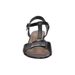 Rzymianki damskie: Sandały Nessi  Sandały skórzane na słupku  43203