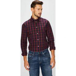 Jack & Jones - Koszula. Czarne koszule męskie na spinki Jack & Jones, m, w kratkę, z bawełny, z klasycznym kołnierzykiem, z długim rękawem. W wyprzedaży za 99,90 zł.