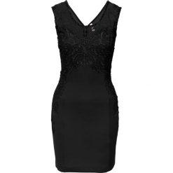 Sukienki: Sukienka na party z koronką bonprix czarny