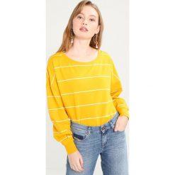 Bluzy damskie: ONLY ONLFANNY STRIPE Bluza mineral yellow/cloud dancer