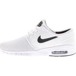 Nike SB STEFAN JANOSKI MAX Tenisówki i Trampki white/black. Białe trampki męskie Nike SB, z materiału. W wyprzedaży za 399,20 zł.
