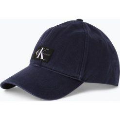 Calvin Klein Jeans - Męska czapka z daszkiem, niebieski. Niebieskie czapki z daszkiem męskie marki Calvin Klein Jeans, z aplikacjami, z jeansu. Za 159,95 zł.