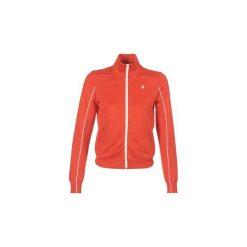 Bluzy G-Star Raw  LANC SLIM TRACKTOP SW. Czerwone bluzy damskie marki G-Star RAW, l, z bawełny. Za 439,00 zł.
