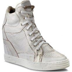 Sneakersy damskie: Sneakersy ROBERTO – 474/D B.Złoty