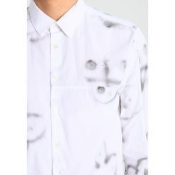 Koszule męskie na spinki: Soulland JIANG Koszula off white/blue