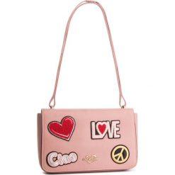 Torebka LOVE MOSCHINO - JC4083PP17LJ0600 Rosa. Czerwone torebki klasyczne damskie marki Love Moschino, ze skóry ekologicznej. Za 909,00 zł.