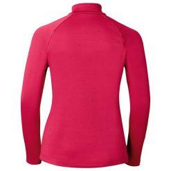 Odlo Bluza damska Midlayer 1/2 zip Snowbird różowa r. XL (222001). Czerwone bluzy sportowe damskie Odlo, xl. Za 175,03 zł.
