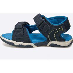 Timberland - Sandały dziecięce. Szare sandały chłopięce Timberland, z gumy. W wyprzedaży za 219,90 zł.