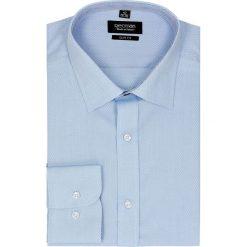 Koszula bexley 2295 długi rękaw slim fit niebieski. Niebieskie koszule męskie jeansowe marki Recman, m, z klasycznym kołnierzykiem, z długim rękawem. Za 139,00 zł.