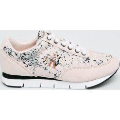 Calvin Klein Jeans - Buty. Szare buty sportowe damskie marki Calvin Klein Jeans, z gumy. W wyprzedaży za 359,90 zł.