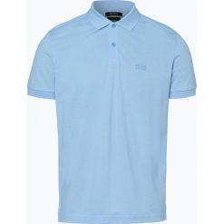 BOSS Athleisurewear - Męska koszulka polo – Piro, niebieski. Niebieskie koszulki polo BOSS Athleisurewear, m, z bawełny. Za 349,95 zł.