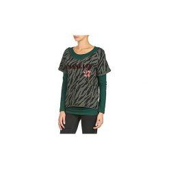 Bluzy Franklin   Marshall  OAKELO. Zielone bluzy rozpinane damskie Franklin Marshall, m. Za 300,30 zł.
