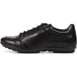 Trampki męskie: Skórzane buty sportowe U SYMBOL D