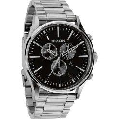 Zegarki męskie: Zegarek męski Black Nixon Sentry Chrono A3861000