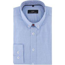 Koszula MICHELE 2 16-06-09-K. Czarne koszule męskie na spinki marki TOM TAILOR DENIM, l, z bawełny, button down, z długim rękawem. Za 199,00 zł.