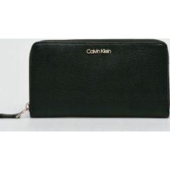 Calvin Klein - Portfel. Czarne portfele damskie Calvin Klein. Za 269,90 zł.