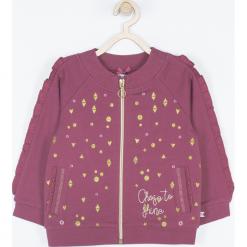 Bluza. Czerwone bluzy dziewczęce rozpinane BEAUTIFUL, z aplikacjami, z bawełny, z długim rękawem, długie. Za 69,90 zł.