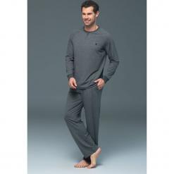 Męska piżama BLACKSPADE 7415. Czarne piżamy męskie marki Astratex, z bawełny. Za 181,75 zł.