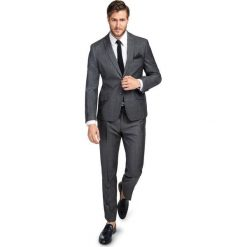 Garnitur LEONARDO SLIM GASS000106. Niebieskie garnitury marki Giacomo Conti, m, z tkaniny, klasyczne. Za 1999,00 zł.