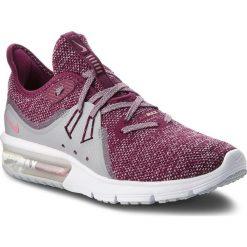 Buty NIKE - Air Max Sequent 3 908993 606 Bordeaux/Elemental Pink. Czerwone buty do biegania damskie Nike, z materiału, nike air max. W wyprzedaży za 289,00 zł.