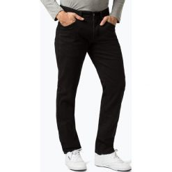 Van Graaf - Jeansy męskie, czarny. Czarne jeansy męskie Van Graaf. Za 199,95 zł.