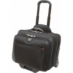 Torby na laptopa: Wenger Potomac torba pilotka na kółkach 2w1 czarna