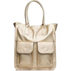 HOLLY Torebka - model 3. Szare torebki klasyczne damskie Stylove, w paski, duże. Za 169,90 zł.