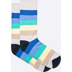 Nanushki - Skarpety. Białe skarpetki męskie marki Nanushki, z bawełny. W wyprzedaży za 19,90 zł.
