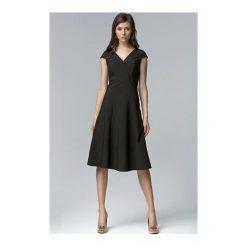 Sukienka Celine S60 czarna. Sukienki małe czarne NIFE, s, z krótkim rękawem. Za 139,00 zł.