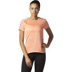 Adidas Koszulka RS SS Tee W pomarańczowy r. L (BQ7963). Brązowe topy sportowe damskie Adidas, l. Za 109,49 zł.
