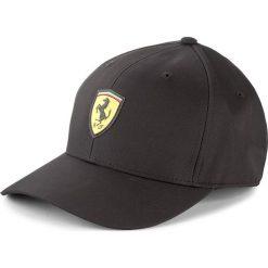 Czapka męska PUMA - Ferrari Fanwear Baseball Cap 021283 02 Adult. Czarne czapki damskie Puma, z poliesteru. W wyprzedaży za 129,00 zł.