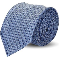 Krawat platinum niebieski classic 234. Niebieskie krawaty męskie Recman. Za 49,00 zł.