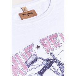 True Religion DESERT BIKE Tshirt z nadrukiem white. Białe koszulki polo True Religion, m, z nadrukiem, z bawełny. W wyprzedaży za 272,35 zł.