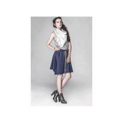 Spódnica dresowa SO NICE. Niebieskie spódniczki Agi jensen design, z bawełny. Za 230,00 zł.